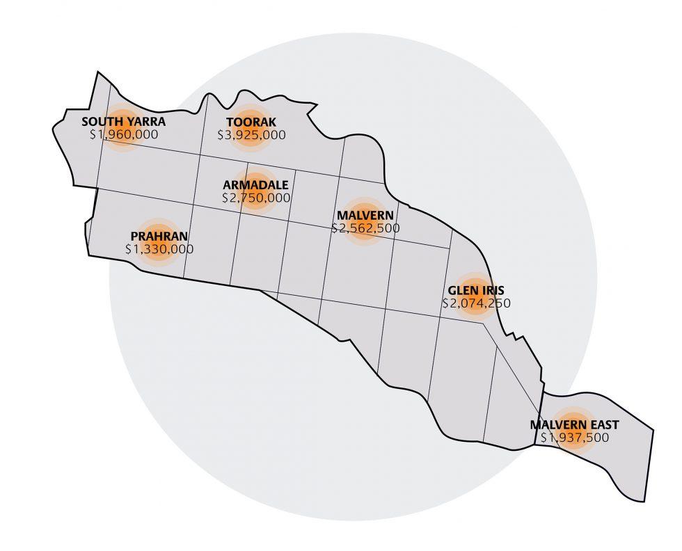 Stonnington Map